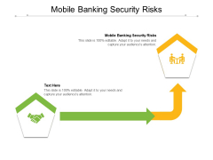 Mobile Banking Security Risks Ppt PowerPoint Presentation Styles Gridlines Cpb Pdf
