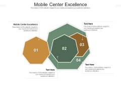 Mobile Center Excellence Ppt PowerPoint Presentation Pictures Graphics Example Cpb Pdf