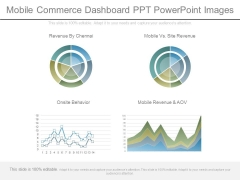 Mobile Commerce Dashboard Ppt Powerpoint Images