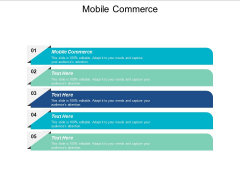 Mobile Commerce Ppt PowerPoint Presentation Show Example File Cpb