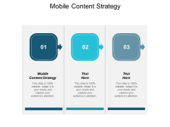 Mobile Content Strategy Ppt PowerPoint Presentation Pictures Designs Cpb