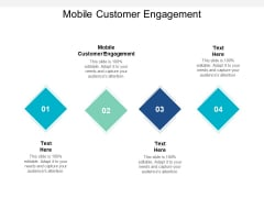 Mobile Customer Engagement Ppt PowerPoint Presentation Portfolio Example Topics
