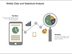 Mobile Data And Statistical Analysis Ppt PowerPoint Presentation Slides Portrait