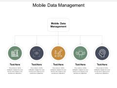 Mobile Data Management Ppt PowerPoint Presentation Slides Show Cpb