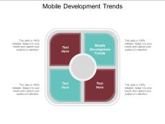 Mobile Development Trends Ppt PowerPoint Presentation Inspiration Aids Cpb