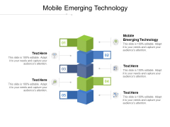 Mobile Emerging Technology Ppt PowerPoint Presentation Summary Infographics Cpb Pdf