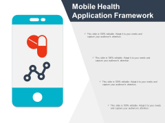 Mobile Health Application Framework Ppt Powerpoint Presentation Layouts Example Introduction