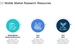 Mobile Market Research Resources Ppt PowerPoint Presentation Slides Files Cpb
