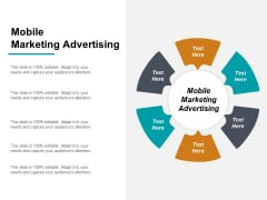 Mobile Marketing Advertising Ppt PowerPoint Presentation Outline Designs Cpb