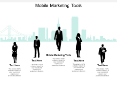 Mobile Marketing Tools Ppt PowerPoint Presentation Show Deck Cpb