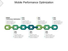 Mobile Performance Optimization Ppt PowerPoint Presentation Professional Microsoft Cpb