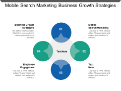 Mobile Search Marketing Business Growth Strategies Employee Engagement Ppt PowerPoint Presentation Gallery Sample