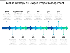 Mobile Strategy 12 Stages Project Management Ppt PowerPoint Presentation Layouts Graphics Example