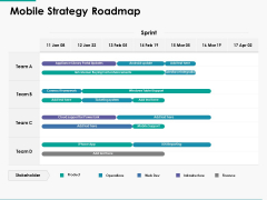 Mobile Strategy Roadmap Ppt Powerpoint Presentation Layouts Guide