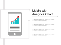 Mobile With Analytics Chart Ppt PowerPoint Presentation Layouts Graphics