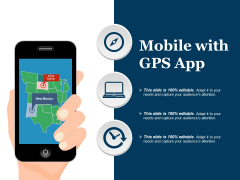 Mobile With Gps App Ppt PowerPoint Presentation Inspiration Guide
