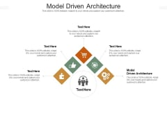 Model Driven Architecture Ppt PowerPoint Presentation Icon Slide Cpb Pdf