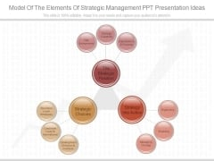 Model Of The Elements Of Strategic Management Ppt Presentation Ideas