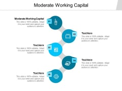 Moderate Working Capital Ppt PowerPoint Presentation Professional Examples Cpb