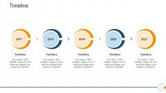 Modern HR Service Operations Timeline Microsoft PDF