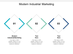Modern Industrial Marketing Ppt PowerPoint Presentation Pictures Clipart Cpb