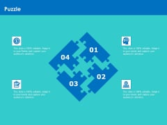 Modifying Supply Chain Digitally Puzzle Ppt PowerPoint Presentation Inspiration Aids PDF
