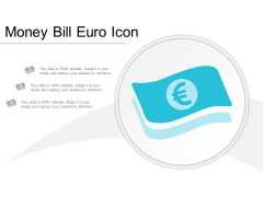 Money Bill Euro Icon Ppt Powerpoint Presentation Styles Portrait
