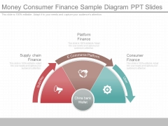 Money Consumer Finance Sample Diagram Ppt Slides