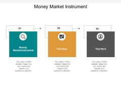 Money Market Instrument Ppt PowerPoint Presentation Model Slide Portrait Cpb