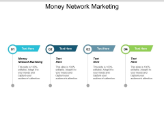 Money Network Marketing Ppt PowerPoint Presentation Show Outline Cpb