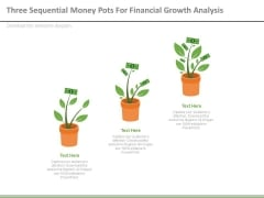 Money Plants For Financial Growth Analysis Powerpoint Slides