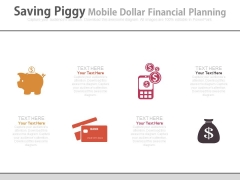 Money Saving And Investment Ideas Powerpoint Slides
