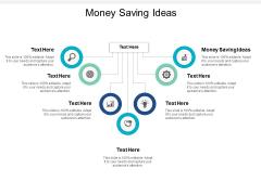 Money Saving Ideas Ppt PowerPoint Presentation Inspiration Example Topics Cpb