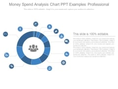 Money Spend Analysis Chart Ppt Examples Professional