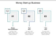 Money Start Up Business Ppt PowerPoint Presentation Ideas Show Cpb Pdf