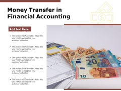 Money Transfer In Financial Accounting Ppt PowerPoint Presentation Gallery Elements PDF