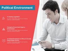 Moneymaking Circumstance Political Environment Ppt Professional Templates PDF