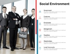 Moneymaking Circumstance Social Environment Ppt Show Tips PDF