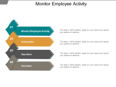 Monitor Employee Activity Ppt PowerPoint Presentation Layouts Samples