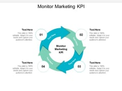 Monitor Marketing KPI Ppt PowerPoint Presentation Ideas Tips Cpb