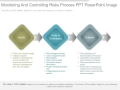 Monitoring And Controlling Risks Process Ppt Powerpoint Image