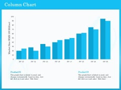 Monitoring And Evaluating Water Quality Column Chart Ppt PowerPoint Presentation File Designs PDF