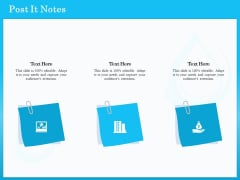 Monitoring And Evaluating Water Quality Post It Notes Ppt Infographic Template Styles PDF