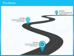 Monitoring And Evaluating Water Quality Roadmap Ppt Slides Topics PDF