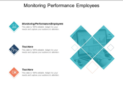 Monitoring Performance Employees Ppt PowerPoint Presentation Show Background Designs Cpb