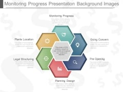 Monitoring Progress Presentation Background Images