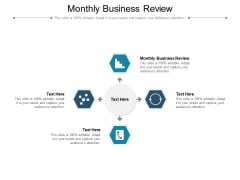 Monthly Business Review Ppt PowerPoint Presentation Gallery Backgrounds Cpb Pdf