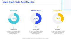 Monthly Digital Marketing Report Template Some Quick Facts Social Media Ideas PDF