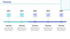 Monthly Digital Marketing Report Template Timeline Structure PDF