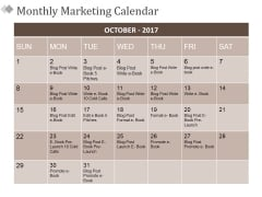 Monthly Marketing Calendar Ppt PowerPoint Presentation Layouts Templates